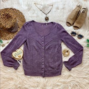 Anthropologie Knitted & Knotted Cardigan-c8